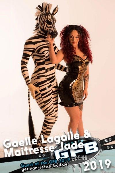 Gaelle Lagalle & Maitresse Jade